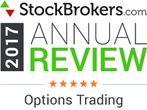 Interactive Brokers reviews: 2017 Stockbrokers.com Awards - 5 stars - Options Trading