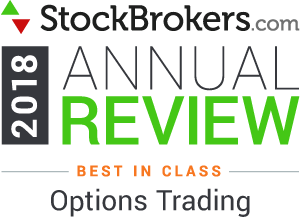Interactive Brokers reviews: 2018 Stockbrokers.com Awards - rated Best in Class in 2018 for Options Trading